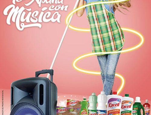 Campaña Excell te apaña con música