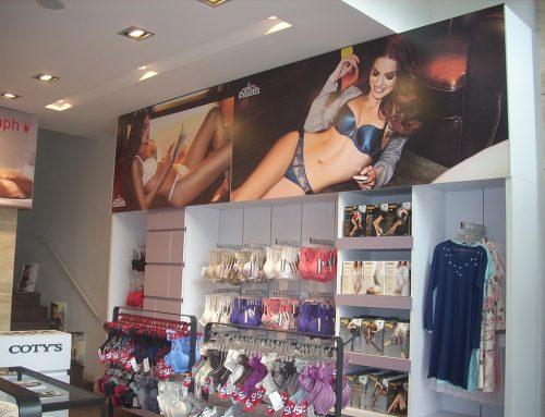 Instalación en grandes tiendas